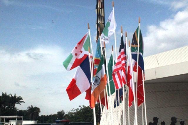 Pays présents à l'APOC 2013