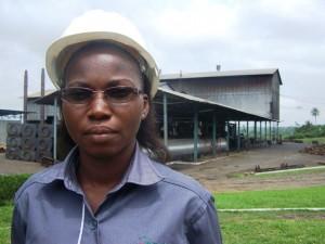 Juliana N'Gotta, 1ère femme chef d'huilerie en Côte d'Ivoire