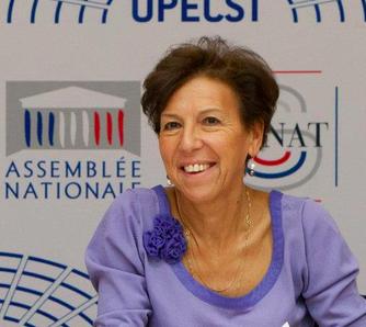 La sénatrice française Cathérine Proccacia