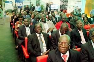 Les acteurs africains de la filière palmier à huile lors de l'APOC 2013