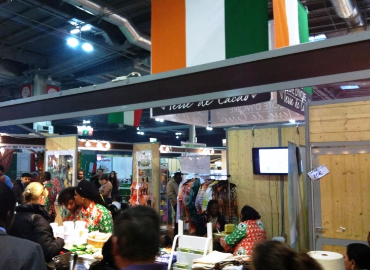 Revue du 3 mars 2015 la c te d 39 ivoire vend son for Salon agriculture paris 2015